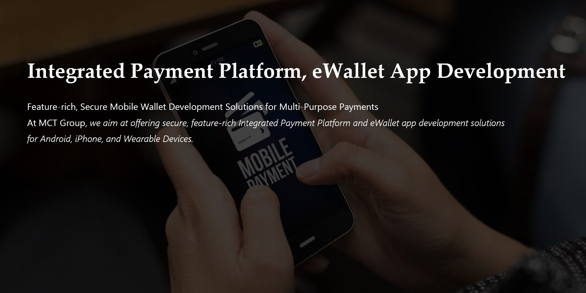 Fin_Tech payment and eWallet solution
